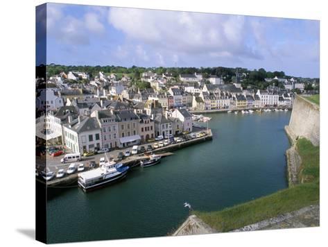 Le Palais, Belle Ile En Mer, Breton Islands, Morbihan, Brittany, France-Bruno Barbier-Stretched Canvas Print