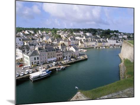 Le Palais, Belle Ile En Mer, Breton Islands, Morbihan, Brittany, France-Bruno Barbier-Mounted Photographic Print
