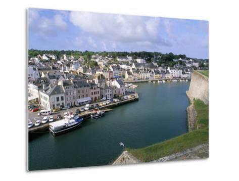 Le Palais, Belle Ile En Mer, Breton Islands, Morbihan, Brittany, France-Bruno Barbier-Metal Print
