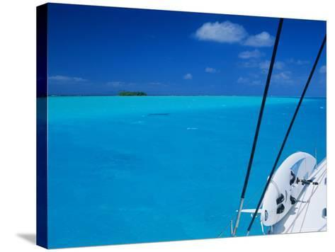 On Board 'Milena I', Lagoon 570, Society Islands Archipelago, French Polynesia-Bruno Barbier-Stretched Canvas Print
