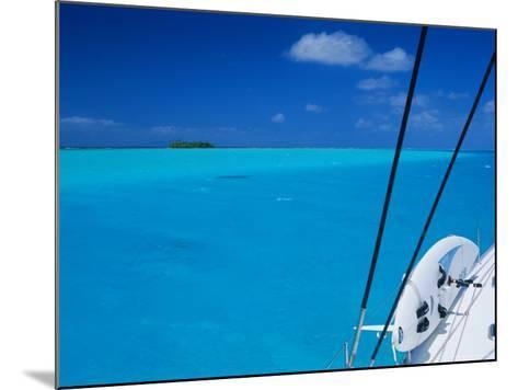 On Board 'Milena I', Lagoon 570, Society Islands Archipelago, French Polynesia-Bruno Barbier-Mounted Photographic Print