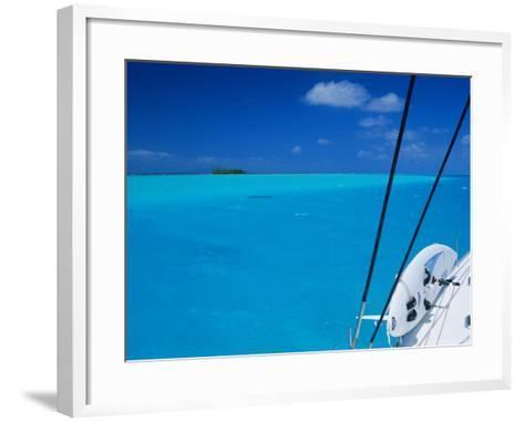On Board 'Milena I', Lagoon 570, Society Islands Archipelago, French Polynesia-Bruno Barbier-Framed Art Print
