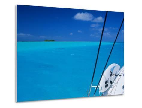 On Board 'Milena I', Lagoon 570, Society Islands Archipelago, French Polynesia-Bruno Barbier-Metal Print