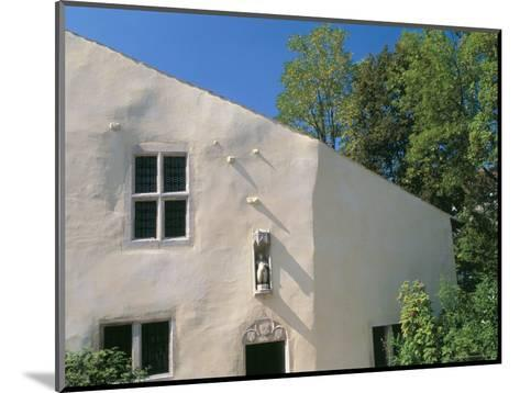 House Where Jeanne d'Arc, was Born, Village of Domremy-La-Pucelle, Vosges, Lorraine, France-Bruno Barbier-Mounted Photographic Print