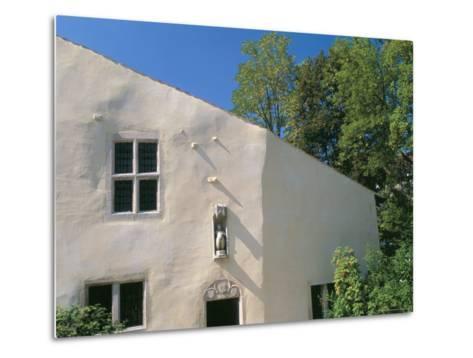House Where Jeanne d'Arc, was Born, Village of Domremy-La-Pucelle, Vosges, Lorraine, France-Bruno Barbier-Metal Print