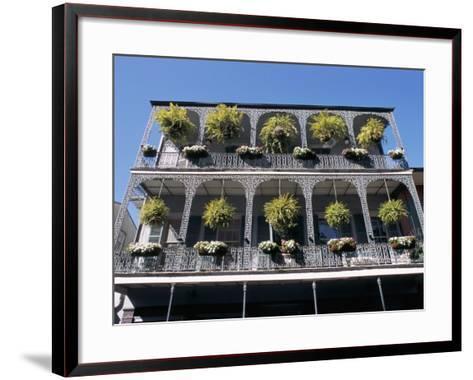 French Quarter, New Orleans, Louisiana, USA-Bruno Barbier-Framed Art Print