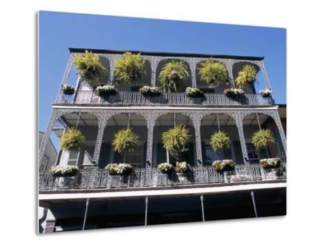 French Quarter, New Orleans, Louisiana, USA-Bruno Barbier-Metal Print