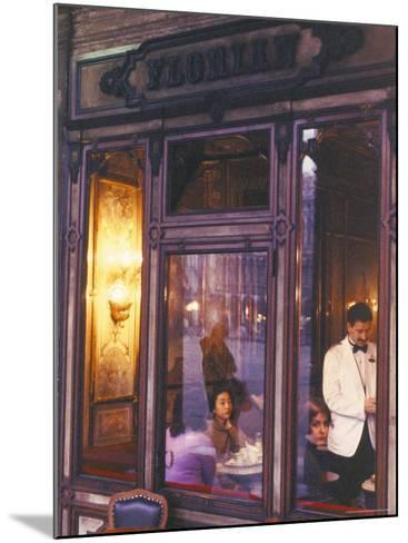 Cafe Florian, St. Mark's Square, Venice, Veneto, Italy-Bruno Barbier-Mounted Photographic Print