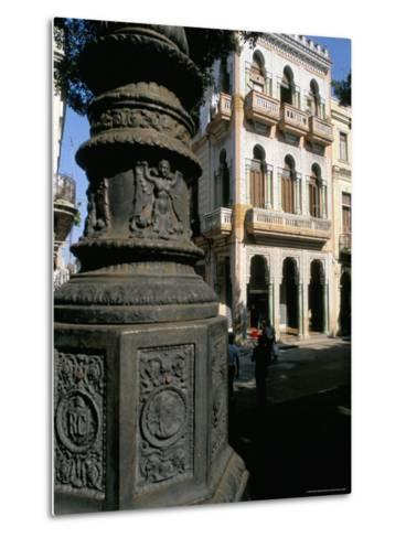 Paseo De Marti, Colonial Quarter of Prado, Havana, Cuba, West Indies, Central America-Bruno Barbier-Metal Print