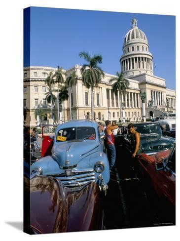 Science Museum, Former Chamber of Represtatives, Capitole, Havana, Cuba-Bruno Barbier-Stretched Canvas Print