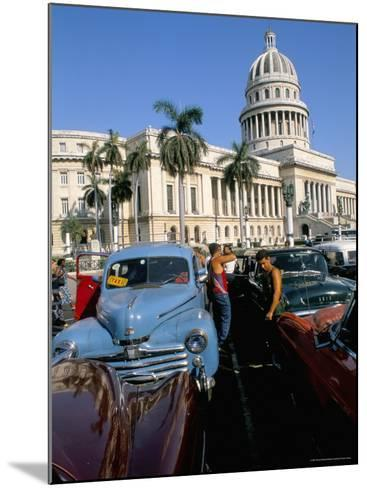 Science Museum, Former Chamber of Represtatives, Capitole, Havana, Cuba-Bruno Barbier-Mounted Photographic Print