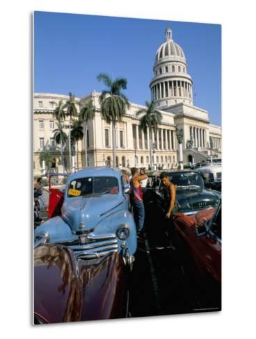 Science Museum, Former Chamber of Represtatives, Capitole, Havana, Cuba-Bruno Barbier-Metal Print