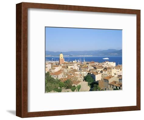 St. Tropez, Var, Cote d'Azur, Provence, French Riviera, France, Mediterranean-Bruno Barbier-Framed Art Print