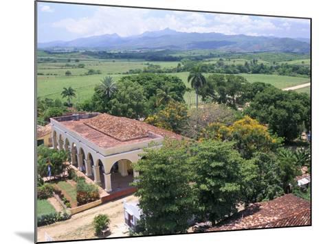 Plantation House on the Guainamaro Sugar Plantation, Valley De Los Ingenios, Cuba-Bruno Barbier-Mounted Photographic Print
