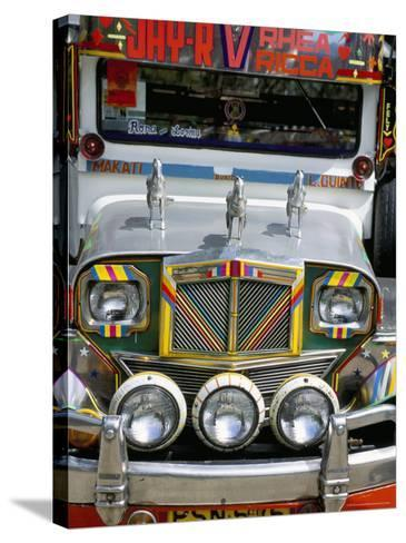 Jeepney, Manila, Island of Luzon, Philippines, Southeast Asia-Bruno Barbier-Stretched Canvas Print