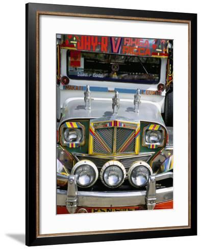 Jeepney, Manila, Island of Luzon, Philippines, Southeast Asia-Bruno Barbier-Framed Art Print