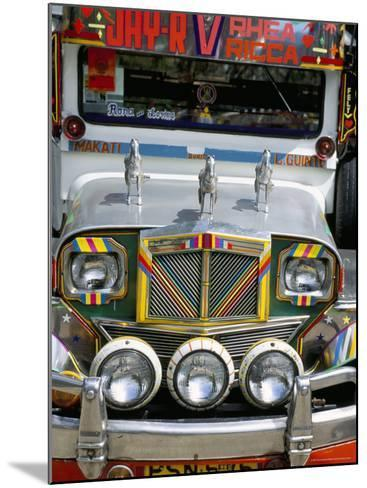 Jeepney, Manila, Island of Luzon, Philippines, Southeast Asia-Bruno Barbier-Mounted Photographic Print