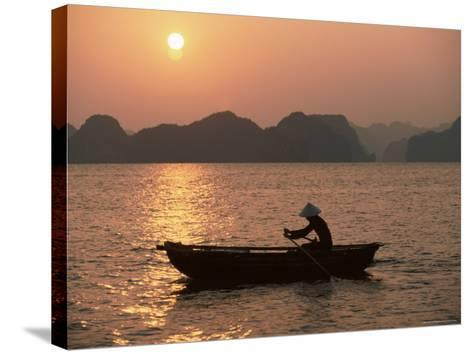 Halong Bay, Vietnam, Indochina, Southeast Asia-Colin Brynn-Stretched Canvas Print