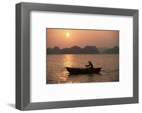 Halong Bay, Vietnam, Indochina, Southeast Asia-Colin Brynn-Framed Art Print