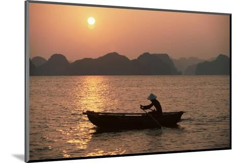 Halong Bay, Vietnam, Indochina, Southeast Asia-Colin Brynn-Mounted Photographic Print