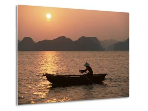 Halong Bay, Vietnam, Indochina, Southeast Asia-Colin Brynn-Metal Print