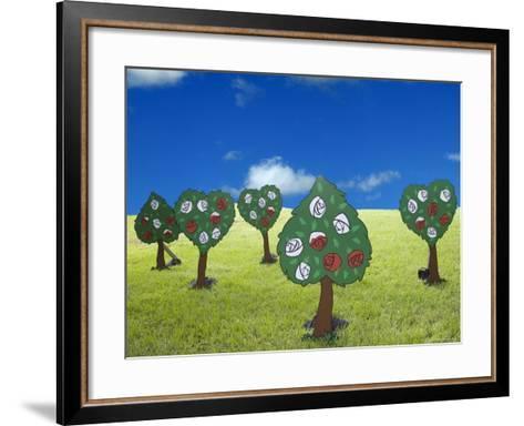Paper Trees-Angelo Cavalli-Framed Art Print
