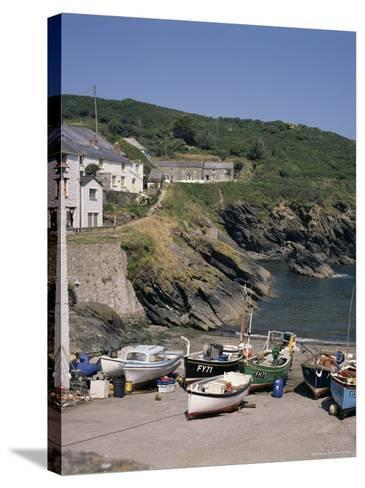 Portloe, Cornwall, England, United Kingdom-Philip Craven-Stretched Canvas Print