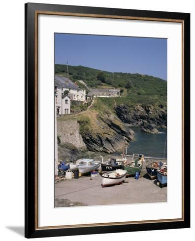Portloe, Cornwall, England, United Kingdom-Philip Craven-Framed Art Print