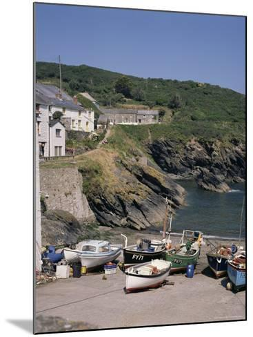 Portloe, Cornwall, England, United Kingdom-Philip Craven-Mounted Photographic Print