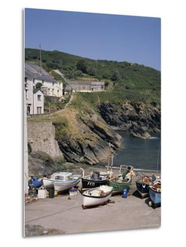 Portloe, Cornwall, England, United Kingdom-Philip Craven-Metal Print
