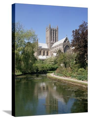 Wells Cathedral, Wells, Somerset, England, United Kingdom-Philip Craven-Stretched Canvas Print