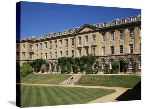 Worcester College, Oxford, Oxfordshire, England, United Kingdom-Philip Craven-Stretched Canvas Print