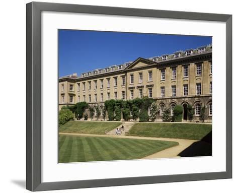 Worcester College, Oxford, Oxfordshire, England, United Kingdom-Philip Craven-Framed Art Print