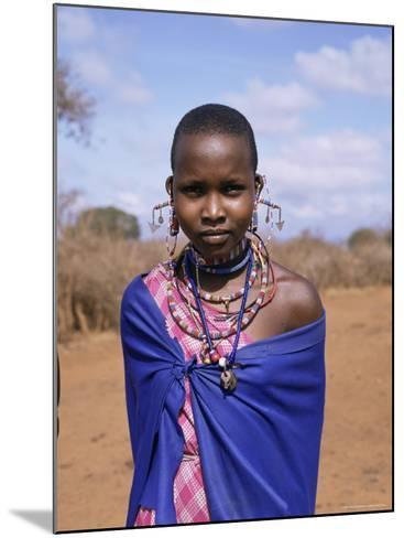 Masai Woman, Kenya, East Africa, Africa-Philip Craven-Mounted Photographic Print