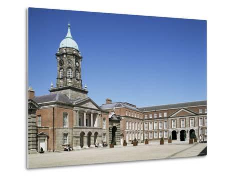 Dublin Castle, Dublin, Eire (Republic of Ireland)-Philip Craven-Metal Print
