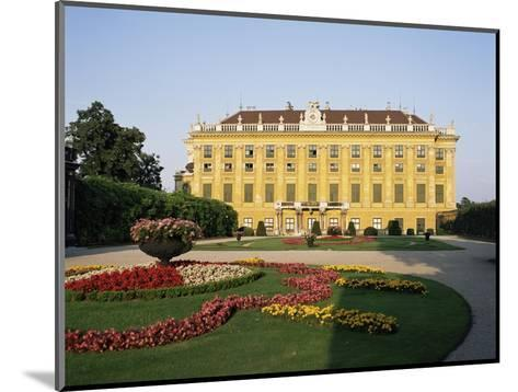 Palace and Gardens of Schonbrunn, Unesco World Heritage Site, Vienna, Austria-Philip Craven-Mounted Photographic Print