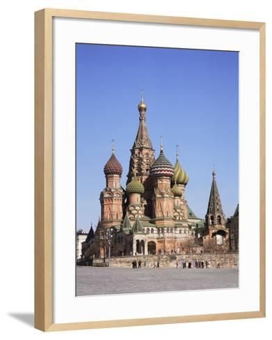 St. Basil's Cathedral, Red Square, Unesco World Heritage Site, Moscow, Russia-Philip Craven-Framed Art Print