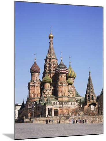 St. Basil's Cathedral, Red Square, Unesco World Heritage Site, Moscow, Russia-Philip Craven-Mounted Photographic Print