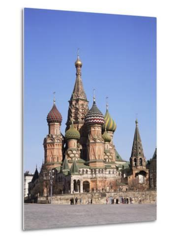 St. Basil's Cathedral, Red Square, Unesco World Heritage Site, Moscow, Russia-Philip Craven-Metal Print