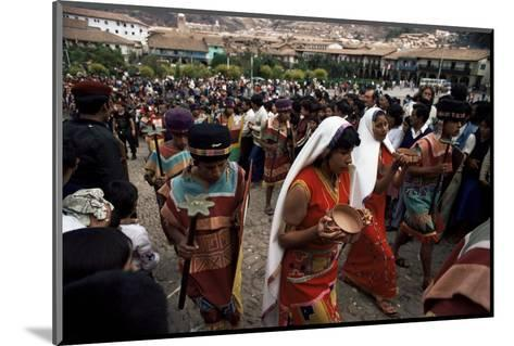 Inti Rayma Festival, Cuzco, Peru, South America-Rob Cousins-Mounted Photographic Print