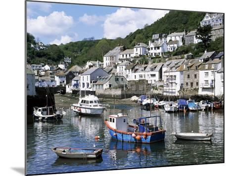 The Harbour, Polperro, Cornwall, England, United Kingdom-Rob Cousins-Mounted Photographic Print