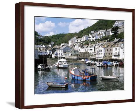 The Harbour, Polperro, Cornwall, England, United Kingdom-Rob Cousins-Framed Art Print
