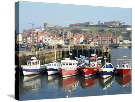 Whitby Harbour, Yorkshire, England, United Kingdom-Rob Cousins-Stretched Canvas Print