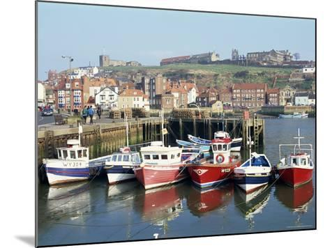 Whitby Harbour, Yorkshire, England, United Kingdom-Rob Cousins-Mounted Photographic Print