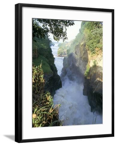 Murchison Falls, Murchison Falls National Park, Uganda, East Africa, Africa-Rob Cousins-Framed Art Print