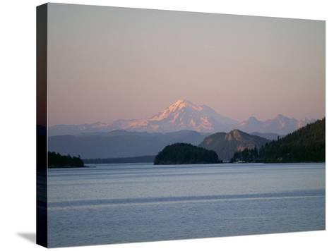 Mount Baker from San Juan Islands, Washington State, USA-Rob Cousins-Stretched Canvas Print