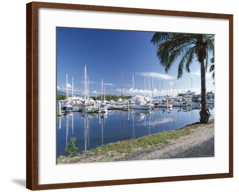 Marina, Port Douglas, Queensland, Australia-Rob Cousins-Framed Art Print