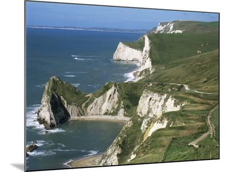 Coast Near Lulworth, Dorset, England, United Kingdom-Rob Cousins-Mounted Photographic Print