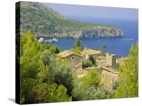 Lluch Alcari, Where Picasso Once Lived, on the Northwest Coast of the Island, Balearic Islands-Kathy Collins-Stretched Canvas Print