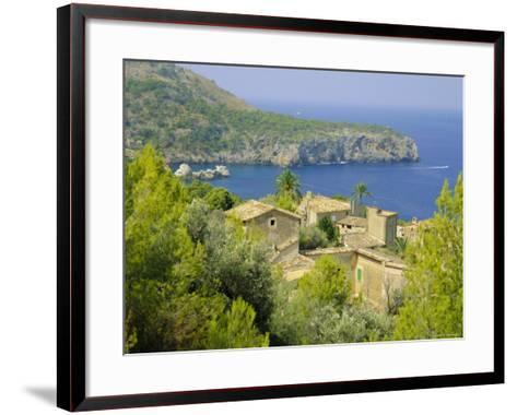 Lluch Alcari, Where Picasso Once Lived, on the Northwest Coast of the Island, Balearic Islands-Kathy Collins-Framed Art Print